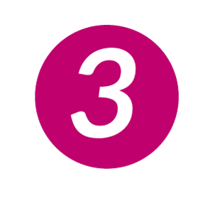 Drei im Kreis